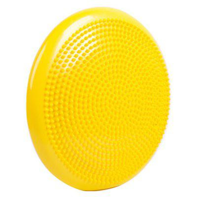 Inflatable Half Yoga Massage Ball Sports Gym Fitness Wobble Stability Balance Disc Massages Cushion Mat