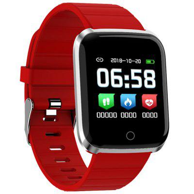 YS18 Smart Watch 5ATM Impermeabile Smartwatch Cardiofrequenzimetro Più Tracker di Fitness per Sport