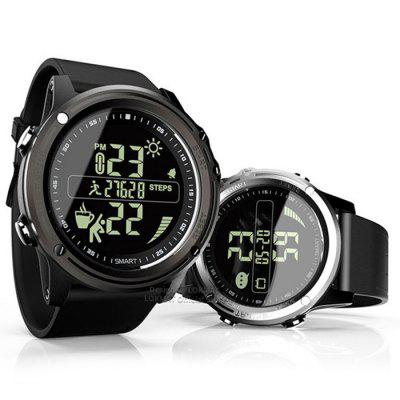 MK07 IP68 Waterproof Smart Watch with 1.25 inch FSTN Screen Fitness Activity Tracker Pedometer Stopwatch Remote Camera