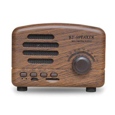 Mini Bluetooth Audio Speaker with Microphone Support FM TF Card