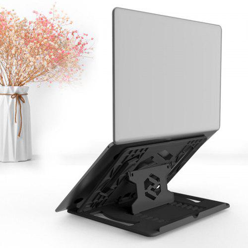 Hot Sales Mini USB Foldable LED Cooling Cooler Pad for PC Laptop Notebook Black