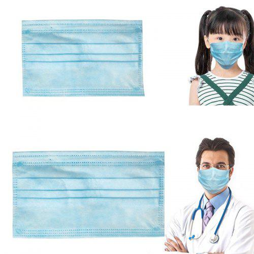 Kid Children Disposable Mask Three-Layer Protective Mask 40PCS