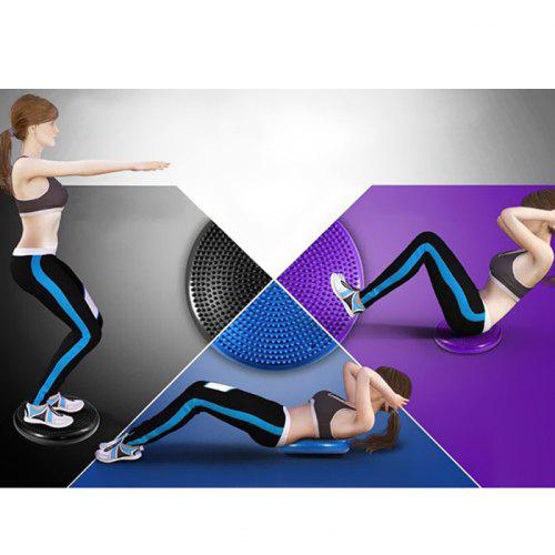 """FunctionalFitness 2/"""" Foam Pilates and Yoga Head Pad with Removable Fabric Cover"""