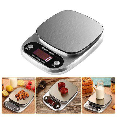 DZC-2 10kg / 1g Kitchen Digital Scale Fruit Scales Medicinal Weighing