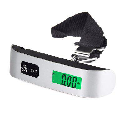 DZC-3 Portable Luggage Scale 50kg / 10g Stainless Steel Precision Hook Scales