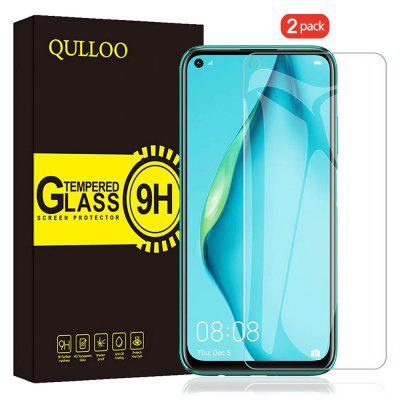QULLOO 2.5D Full Coverage Protective Glass Film Screen Protector for Samsung Galaxy A51