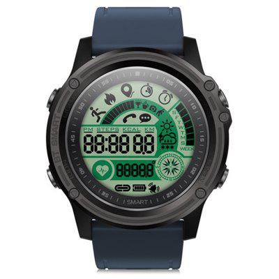 S28 Montre Intelligente de Tracker de Sports Bluetooth 4.0 Imperméable avec Fonction d'Alarme d'Appel SMS à Distance
