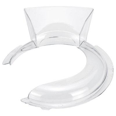 4.5-5QT Bowl Pouring Shield Tilt Head Tritan BPA Free Material for Kitchen Aid Stand Mixer Replacement Accessories
