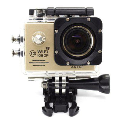 Sport Mini Camera Portable Action Cam LCD WiFi Full HD 1080P Helmet Camera's met waterdichte behuizing