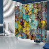 Succulent Patroon waterdicht Shower Curtain Home Decoration - MULTI