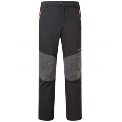 NUCKILY XJW210 Men Cycling Pants Mountain Bike Bicycle Casual Trousers Loose Version with Belt