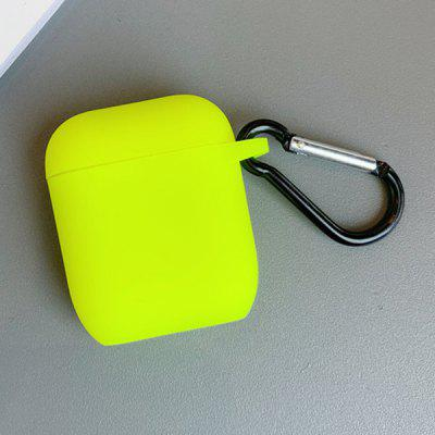 Solid Color Bluetooth fejhallgató tok Apple AirPods 1/2
