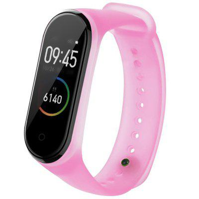 TAMISTER Jelly Translucent Replacement Strap for Xiaomi Mi Band 4 / 3