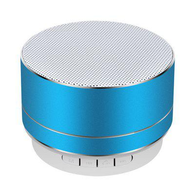 Mini Metal Wireless Bluetooth Speaker Durable Subwoofer for iPhone X