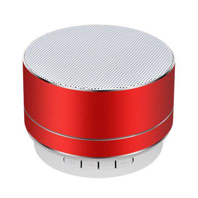 Mini Metal Wireless Speaker Bluetooth Trwały Subwoofer dla iPhone X