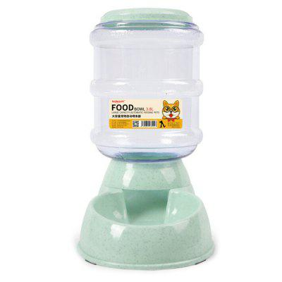 Gravity Supply Dog Cat Feeding Automatic Pet Feeder 3.8L large Capacity