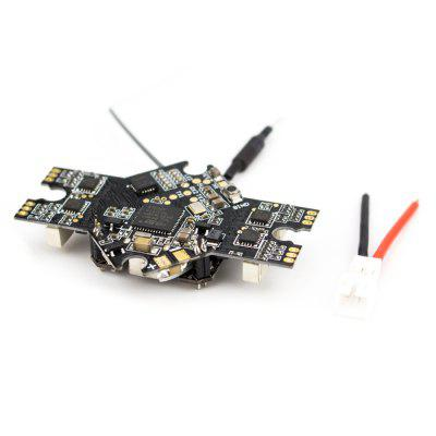 EMAX Spare Part AIO F4 Flight Controller 5A BlHeli_S ESC 25 / 100 / 200mw VTX SPI Receiver Board for Tinyhawk II 75mm 1-2S Whoop