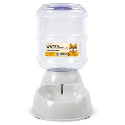 Gravity Supplies Cat Dog Water Dispenser 3.8L Large Capacity Automatic Pet Watering Feeding Device