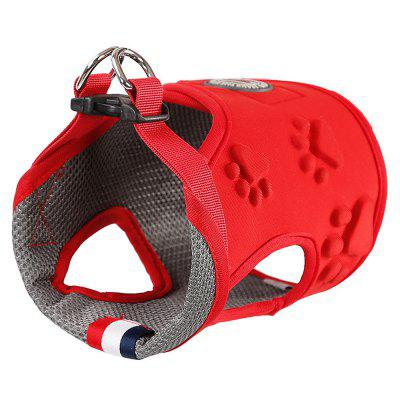 PD20028 Dog and Cat Harness Traction Vest Pet Stroll Out Chest