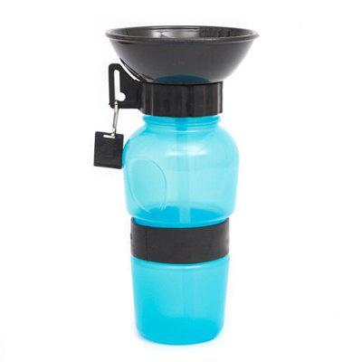 Dog Travel Drinking Water Bottle Portable Outdoor Pet Accompanied Cup Water Feeder