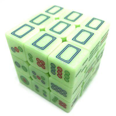 Icon Fluorescence 3 x 3 x 3 Magic Cube Children Educational Toy Early Childhood Science Toys