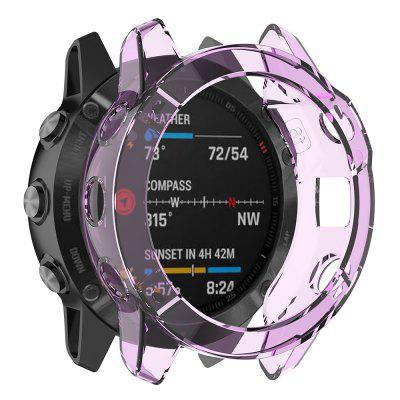 Protective Shell Case TPU Transparent Material for Garmin Fenix 6