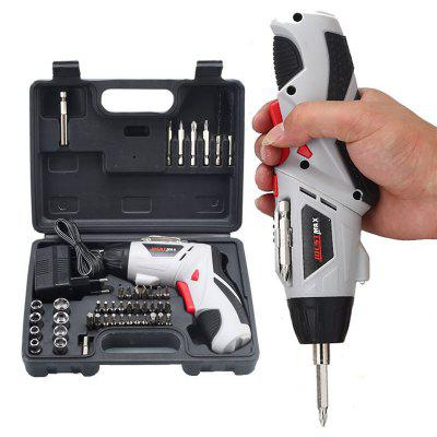 4.8V Rechargeable Electric Screwdriver Multifunction Hand Drill Electric Screwdriver Set Power Tools