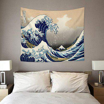 Surfing Wall Κρεμαστά Tapestry Home Decor Living Room Wall Ιστορικό πανί κουβέρτα