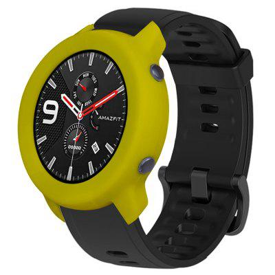 TAMISTER Soft Full-edge Silicone Protective Watch Case Explosion-proof Fracture-proof Watch Cover for AMAZFIT GTR Watch 42mm Edition