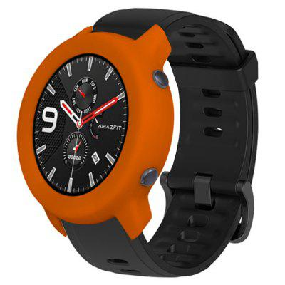 Huami Kijk AMAZFIT GTR (42mm Edition) Soft Explosion-proof Breuk-proof Full-edge silicone beschermhoes