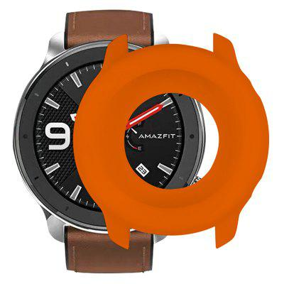 Huami Kijk AMAZFIT GTR (47mm Edition) Soft Explosion-proof Breuk-proof Full-edge silicone beschermhoes
