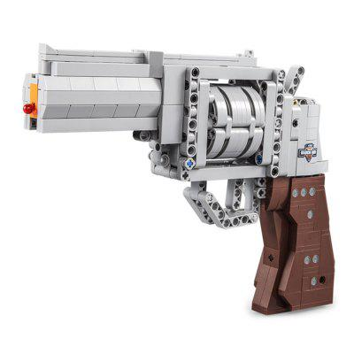 475pcs CADA C81011 Revolver Technology Building Block jucărie