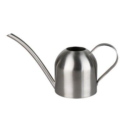 Stainless Steel Indoor Watering Can Hemispherical Shower Pot for Household Use 450ML