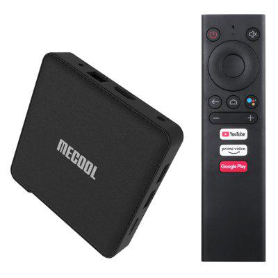 MECOOL KM1 COLLECTIVE ATV Google Certified TV Box met Smart Voice Remote Amlogic S905X3 Dual-band WiFi