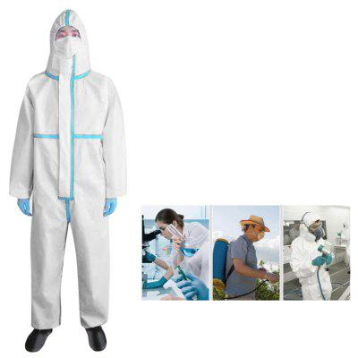 TLX-YF102 Disposable Medical Safety Clothing Protective Suit Anti-virus Workshop Overall Coveralls Isolation Gown