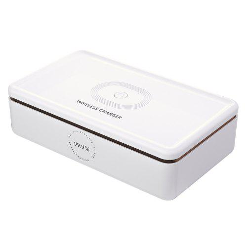 Multifunctional Wireless Charger UV Mobile Phone Disinfection Box Mask Sterilizer