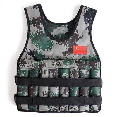 Adjustable Running Vest Army Clothing Breathable Men and Women Training Vest for Loading Sandbags Invisible Training Vest