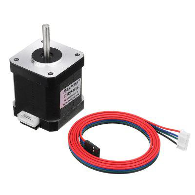 17HS8401-S 48mm Nema 17 Stepper Motor 42 Motors 42BYGH 1.8A 52N.cm 4-lead for 3D Printer CNC Laser