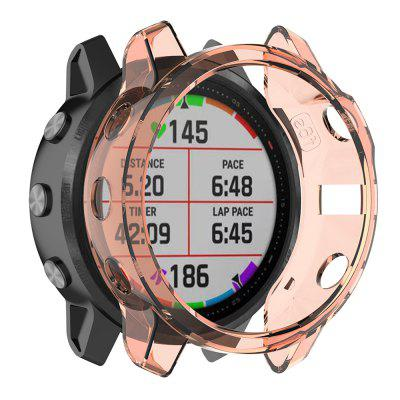 Garmin Suitable Jiaming Fenix6s Shock Dust Protective Shell Of Transparent Material TPU