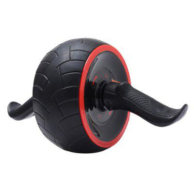 Abdominal Wheel Abdominal Muscle Fitness Trainer Roller Automatic Rebound Web Wheel Mute Single Wheel Tire Skin Abdominal Wheel
