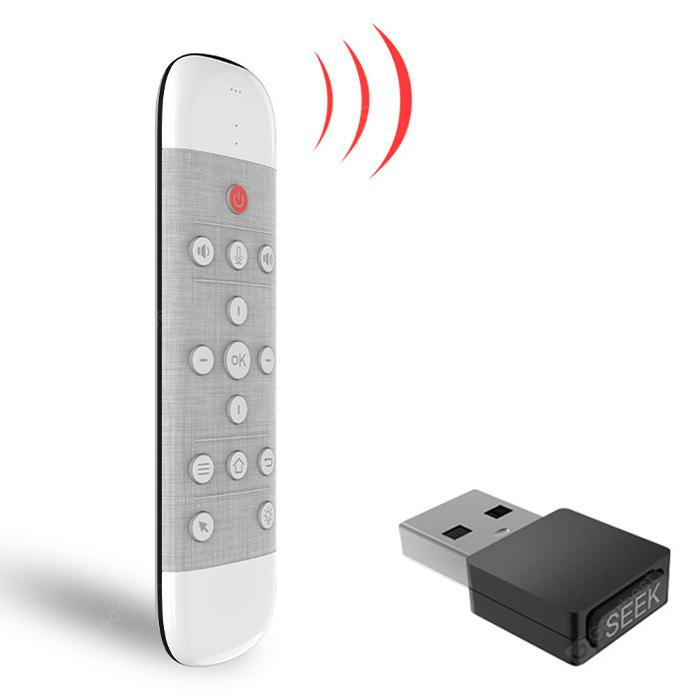 Q40 2.4G Wireless Anti-lost Air Mouse Smart Voice Keyboard Remote Control