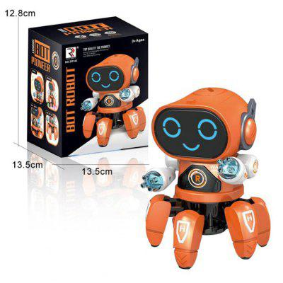Electric Fish Six Feet Dancing Robot with Music Light