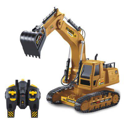 1:24 Simulation Remote Control Excavator Engineering Construction Vehicles Toys for Children