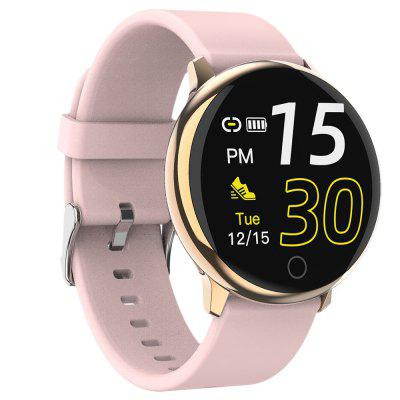 Q16 HD Full Touch Screen Smart Watch Wild Round Silicone Strap Steel Intelligence Waterproof Heart Rate Monitor