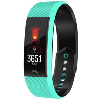 F6 Smart Bracelet Heart Rate Monitor Waterproof Fitness Tracker Bluetooth Watch for iOS Android Unisex