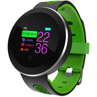 Q8 Pro Smart Watch Supports Sleep Monitor Fitness  Tracker Heart Rate Blood Pressure with Round Color Display
