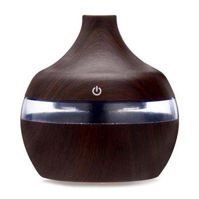 300ml Essential Oil Diffuser USB Air Humidifier With Essential Lavender Lemongrass Rosemary Oils Aroma Strong Mist Maker