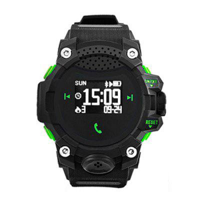 Cool Outdoor Speakers Sports Smartwatch Dual Bluetooth Connectivity Hands-free Calls Strong Battery Life