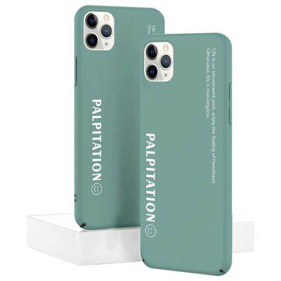 Proste Matte Cukierki Kolor Phone Case pokrowiec do iPhone Pro Max 11/11/11 Pro