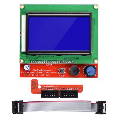 3D Printer Parts LCD 12864 LCD Control Panel Display for 3D Printer Smart Controller RAMPS1.4
